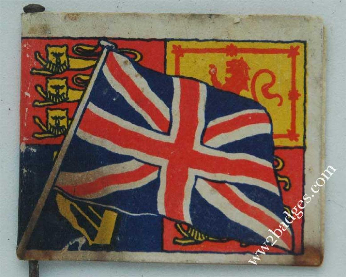 Flag Day Pin Badge: Great Britain Army Flag War Effort