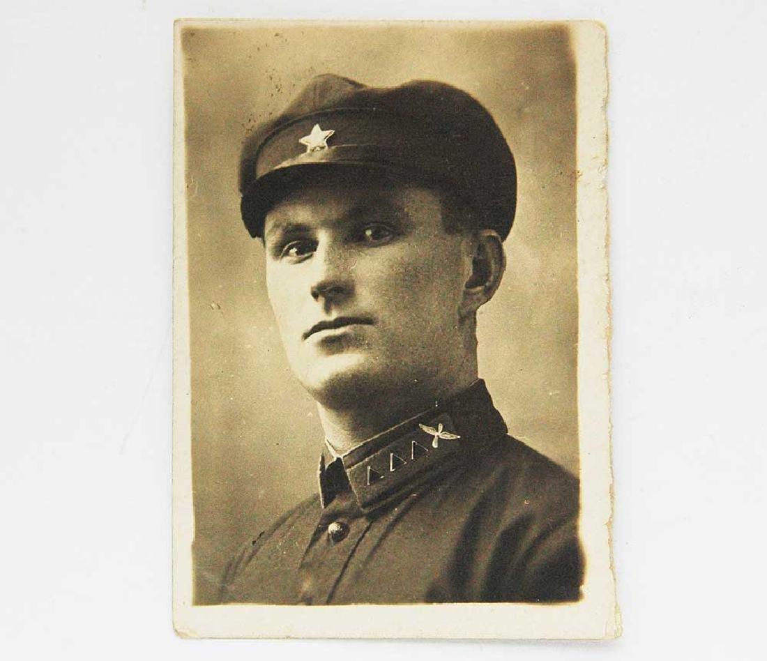 Original Rare Russian CCCP Photo of Pilot, 1935