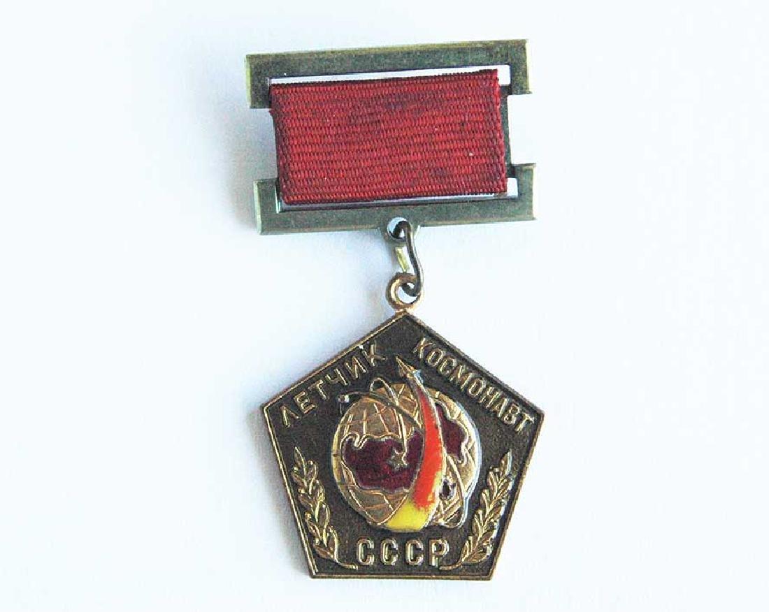 Rare Russian Soviet PILOT-Cosmonaut Badge