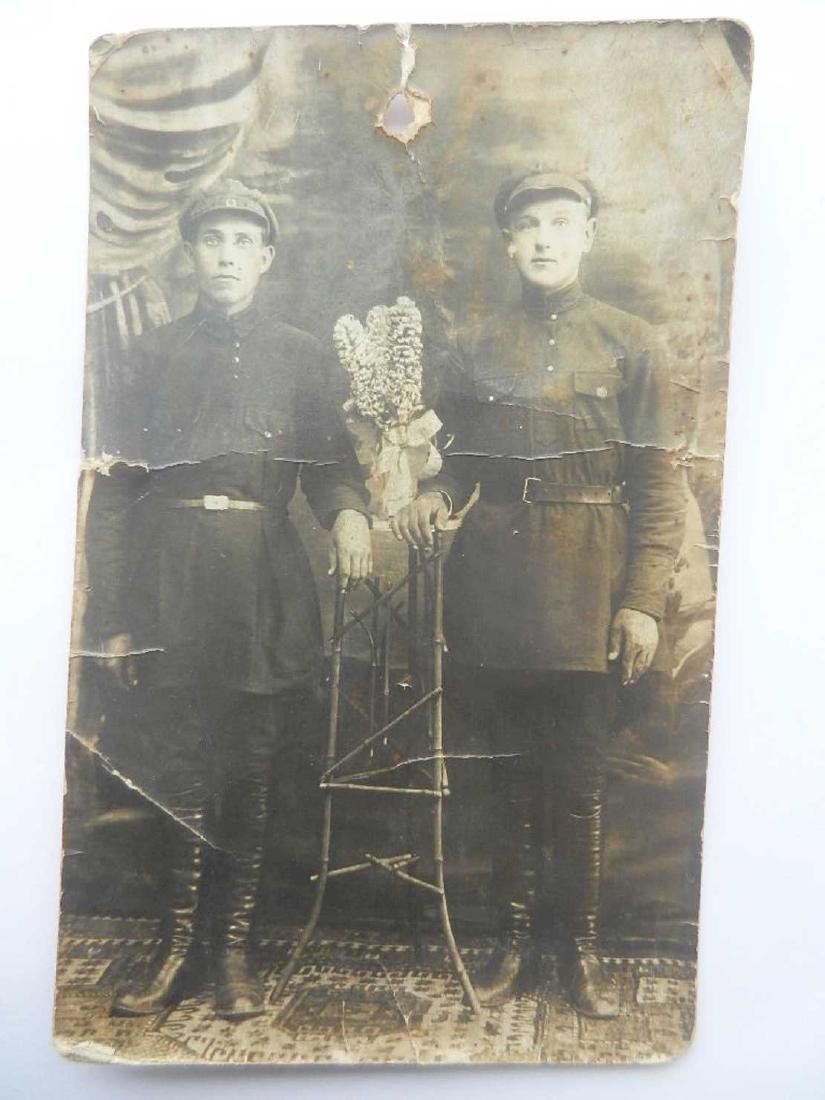 Russian Soviet Photo Soldiers of Red Armee, 1930x