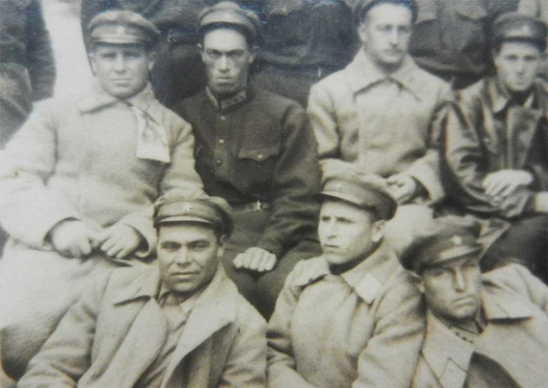 Russian Photo of Soviet OFFICERs in Crimea, 1931