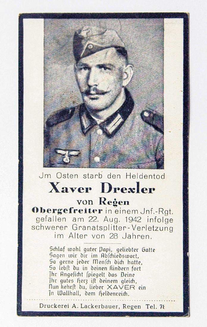 German WW2 Military Deaf Certificate, 1942