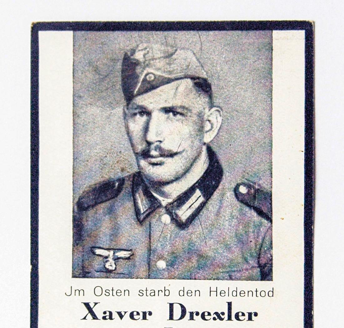 German WW2 Military Deaf Certificate, 1942 - 2