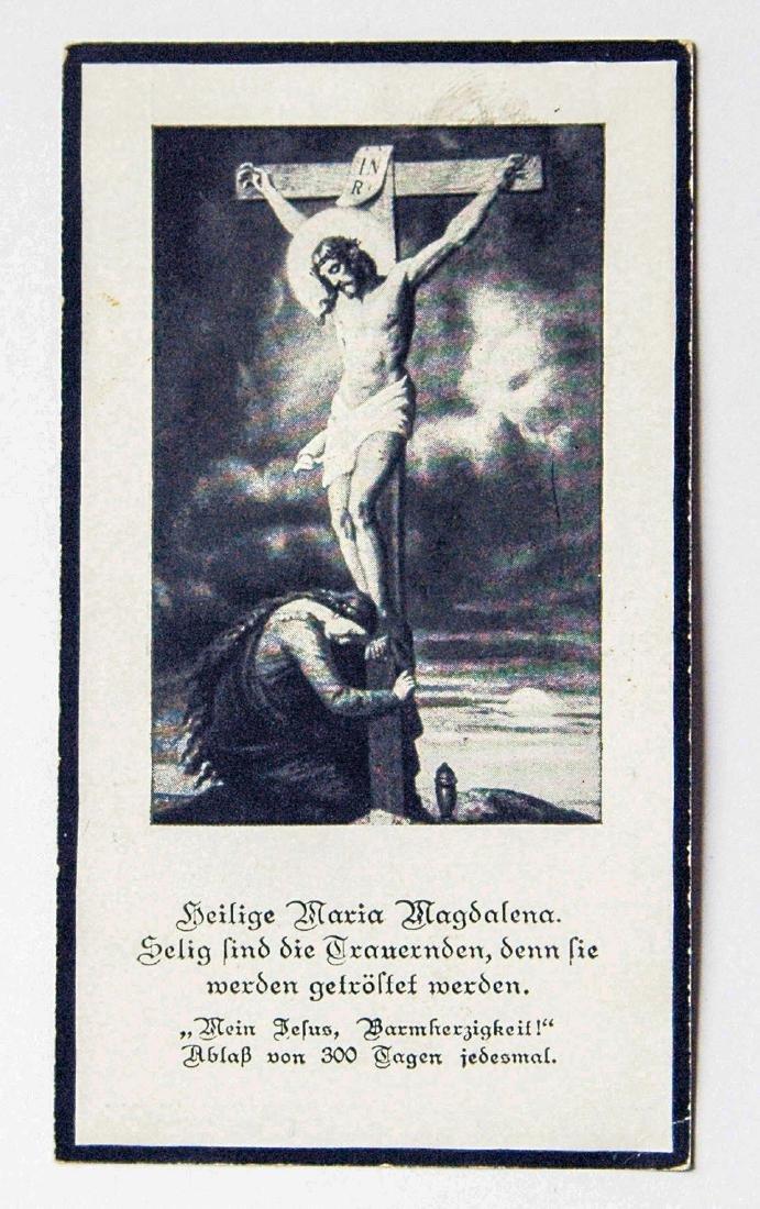 German WW2 Military Deaf Certificate, 1942 - 4