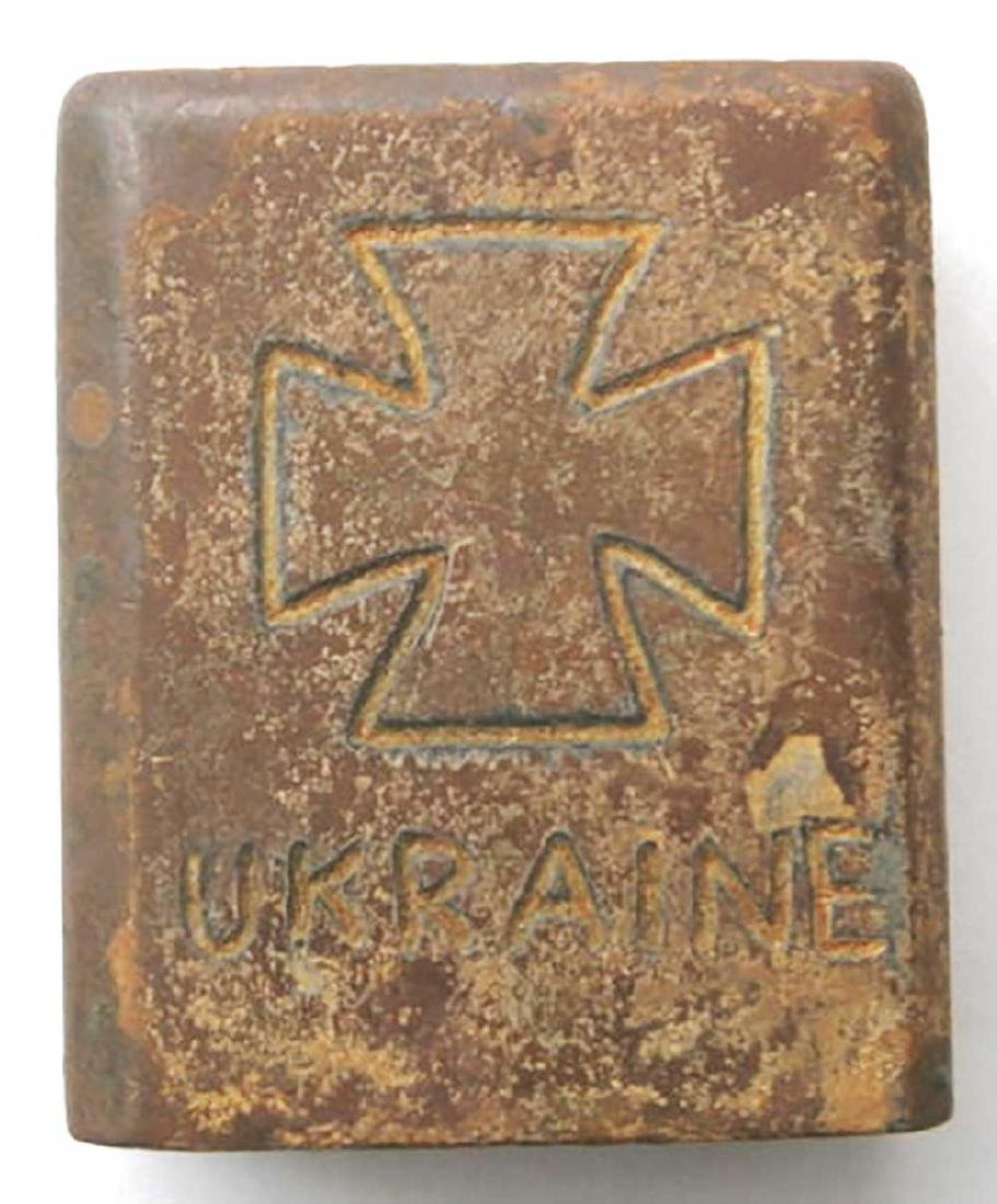 Original German WW2 Cigarette Lighter, Ostfront 1941 -