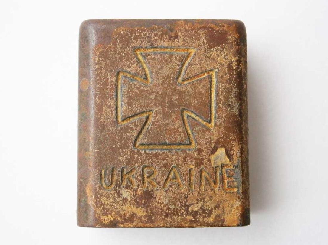 Original German WW2 Cigarette Lighter, Ostfront 1941 - - 4