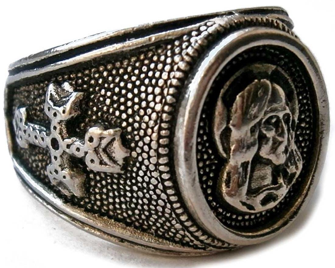 Original Ring with CROSS and Jesus