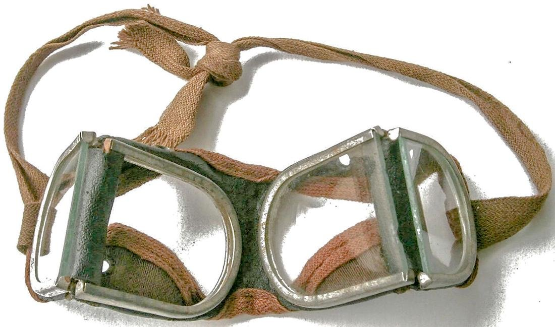 German WW2 Military Goggle Glasses, 1941 - 1945