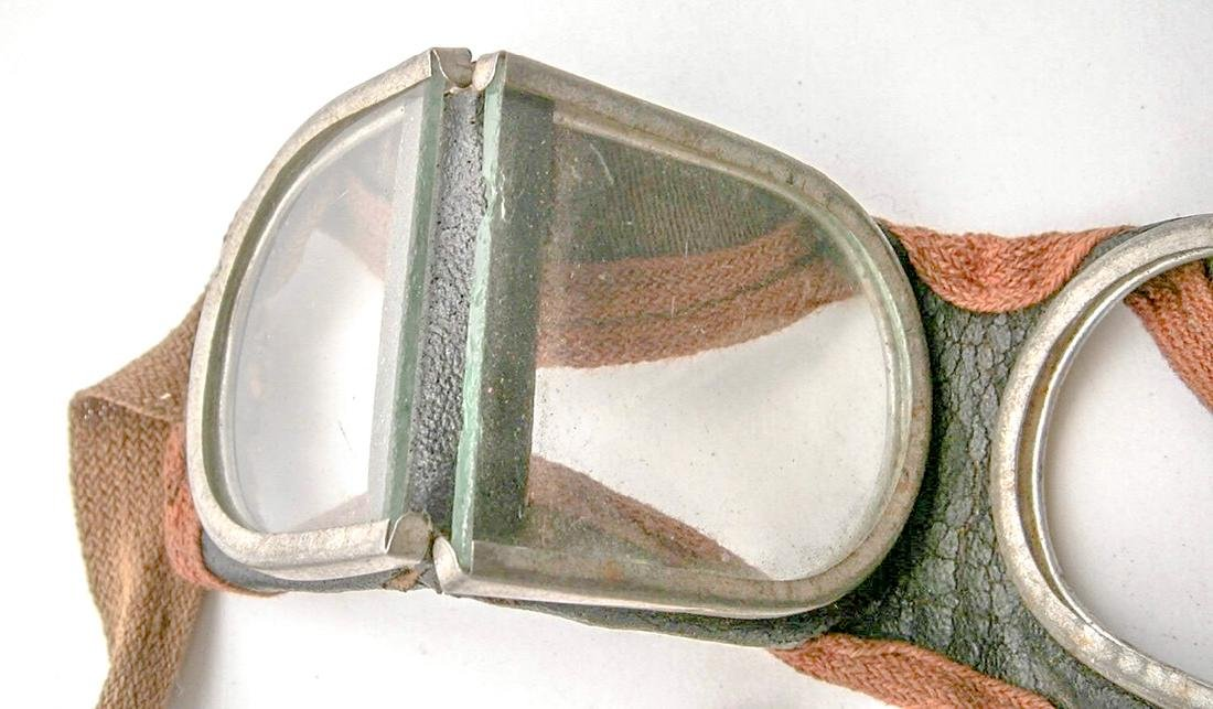 German WW2 Military Goggle Glasses, 1941 - 1945 - 4