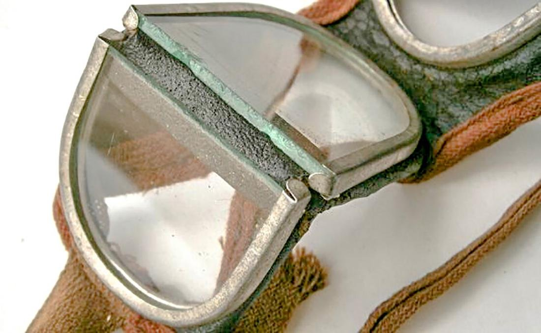 German WW2 Military Goggle Glasses, 1941 - 1945 - 5