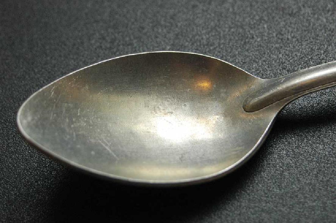 Rare German WW2 Kriegsmarine Spoon, marked M - 4