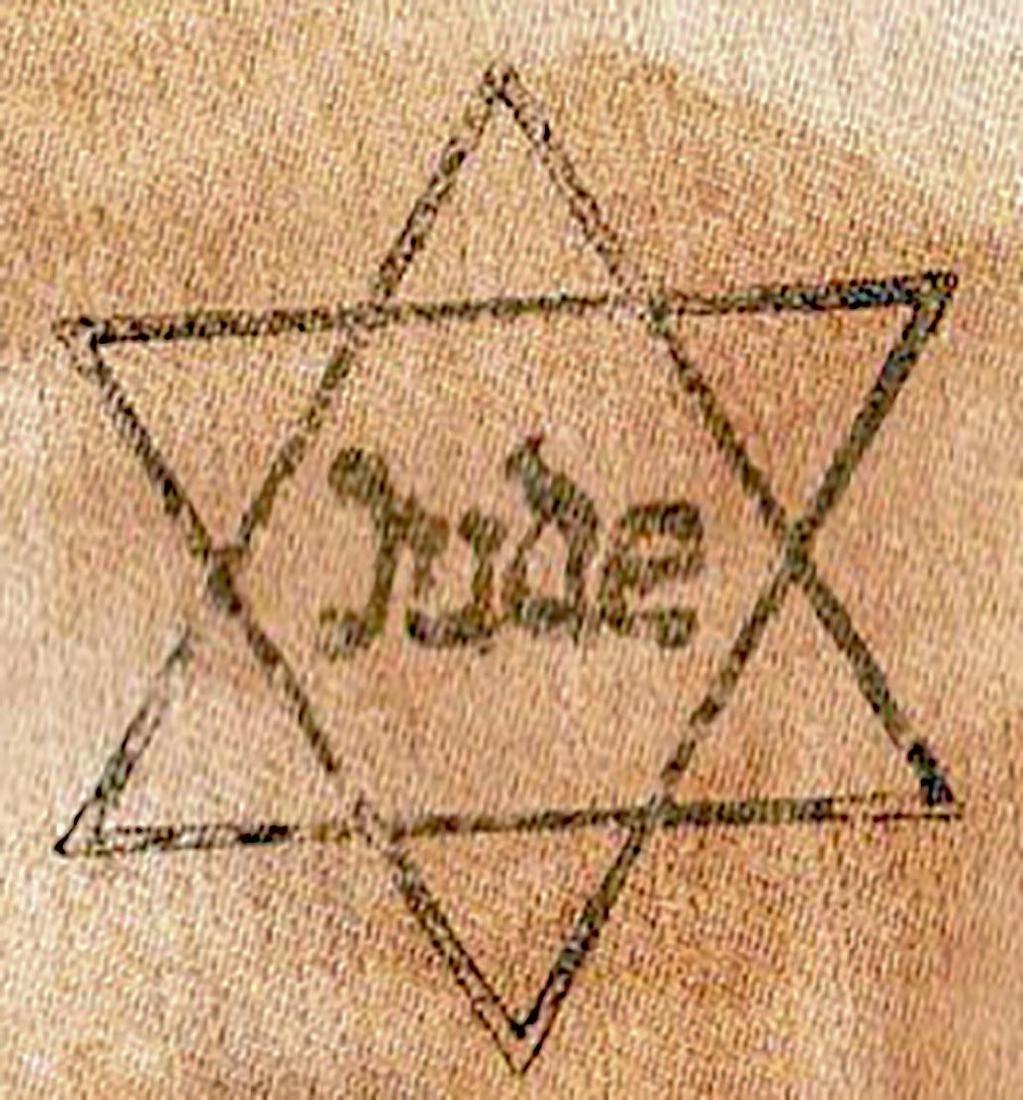 Jewish WW2 ARMBAND JUDE from Litzmannstadt