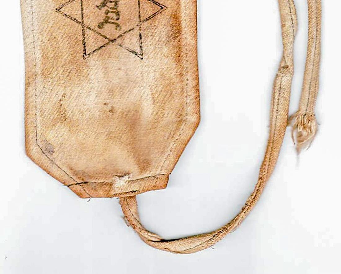 Jewish WW2 ARMBAND JUDE from Litzmannstadt - 5