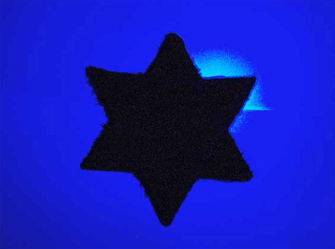 Jewish WW2 Yellow Star of David JUDE fr. Litzmannstadt - 3