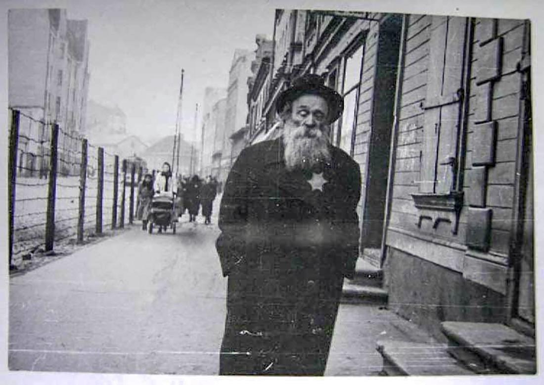 Jewish WW2 Yellow Star of David JUDE fr. Litzmannstadt - 6