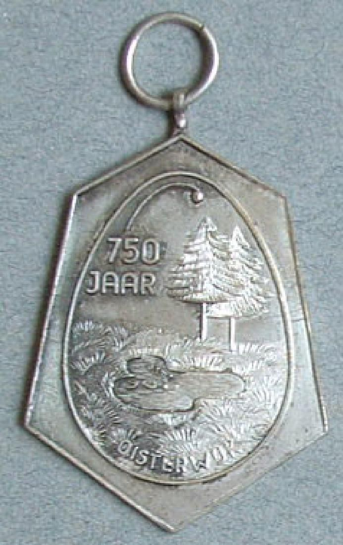 Unknown Original German Silver Medal, DDR