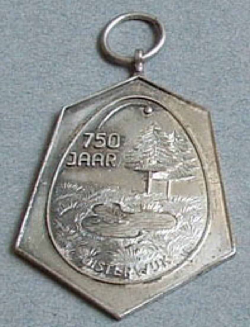 Unknown Original German Silver Medal, DDR - 3