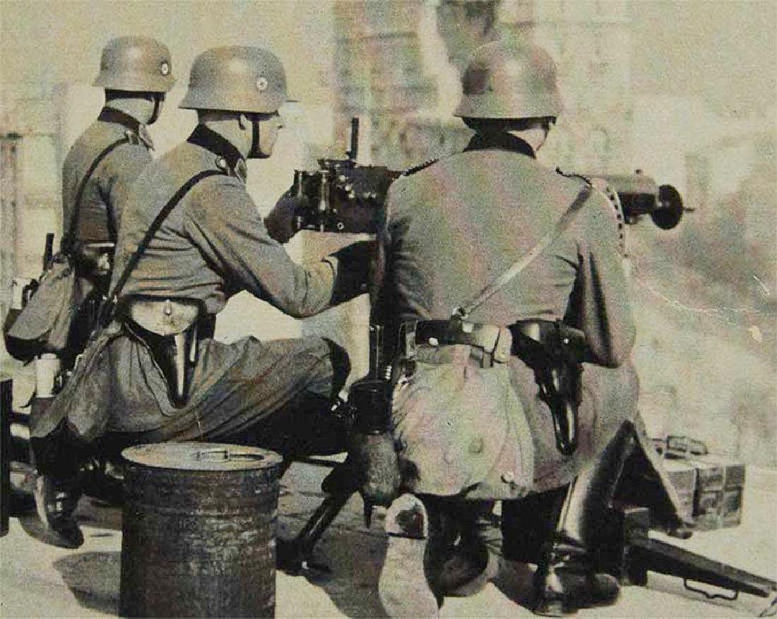 German WW2 Side Cap, 1943 - 4