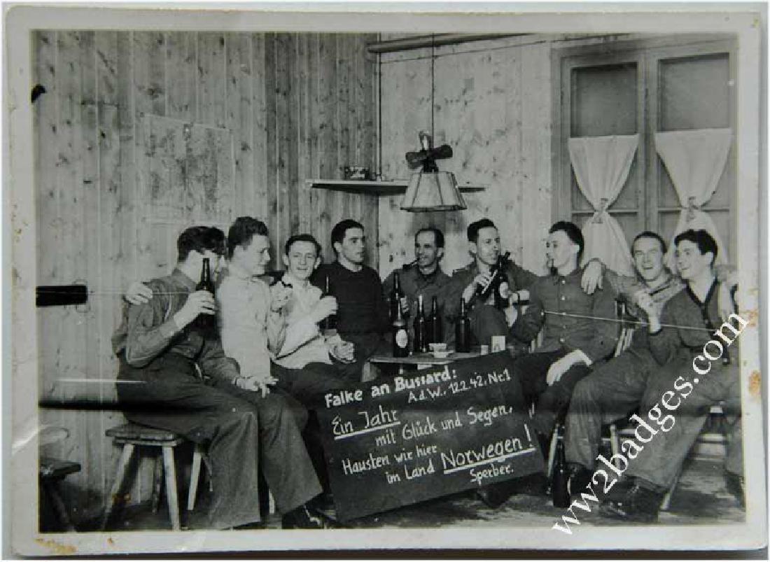 German WW2 Photo of German Soldiers in Norwegen, 1942 - 2