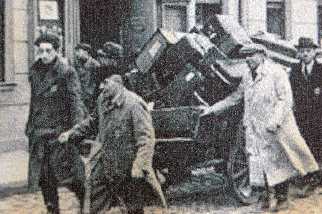 Jewish WW2 Postcard fr. LITZMANNSDADT - Jewish Ghetto