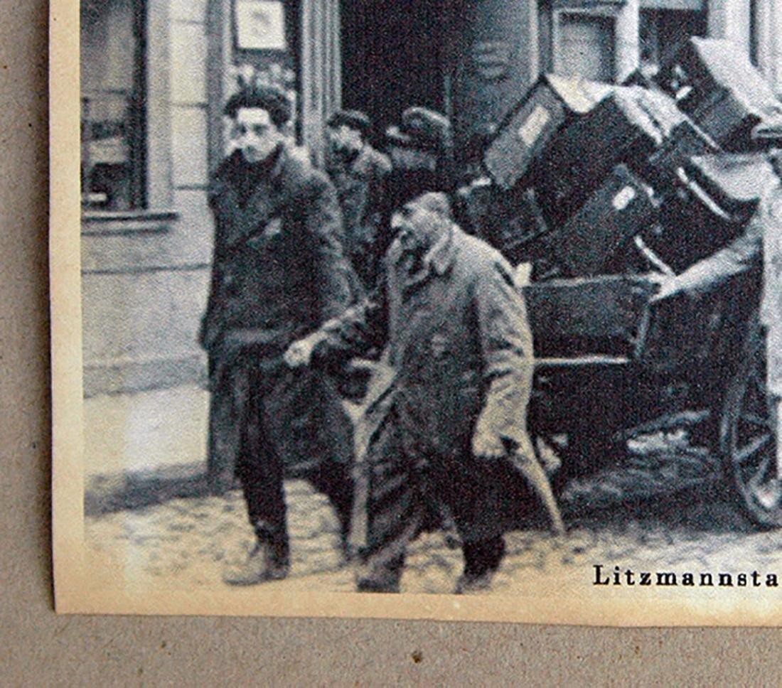 Jewish WW2 Postcard fr. LITZMANNSDADT - Jewish Ghetto - 4