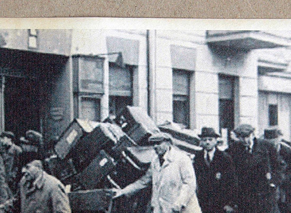 Jewish WW2 Postcard fr. LITZMANNSDADT - Jewish Ghetto - 5