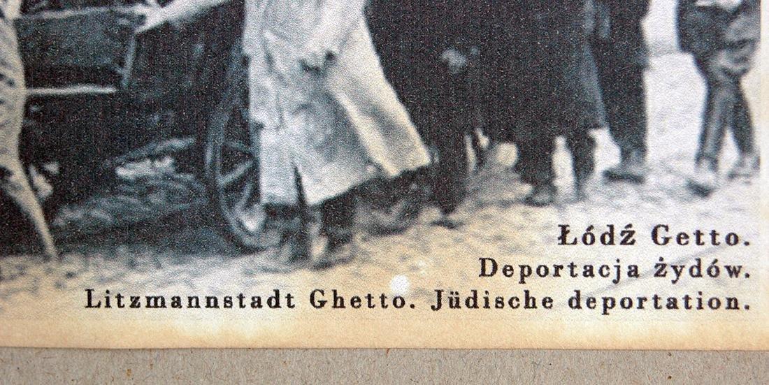 Jewish WW2 Postcard fr. LITZMANNSDADT - Jewish Ghetto - 6