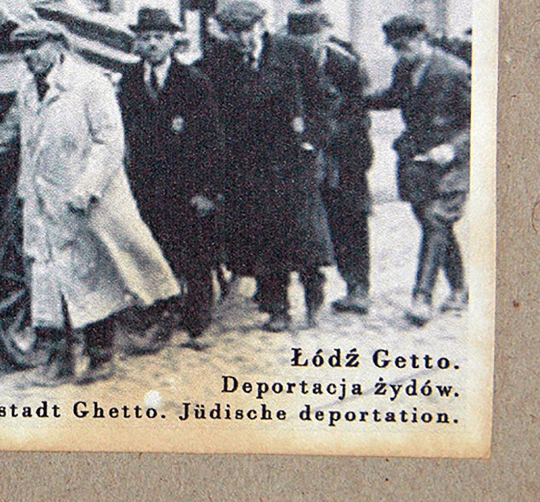 Jewish WW2 Postcard fr. LITZMANNSDADT - Jewish Ghetto - 8