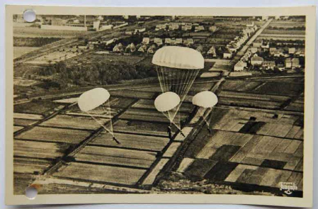 German WW2 Military Letter Luftwaffe 1935