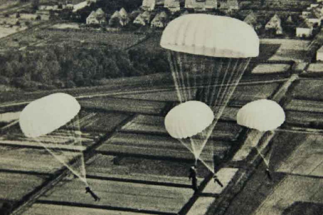 German WW2 Military Letter Luftwaffe 1935 - 2