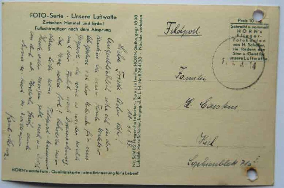 German WW2 Military Letter Luftwaffe 1935 - 3