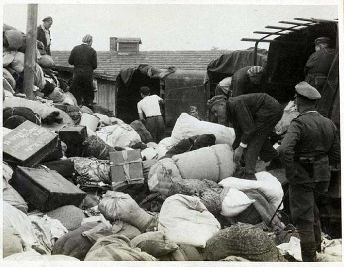 German WW2 Deutsche Reichsbank Bag, BUCHENWALD - 9