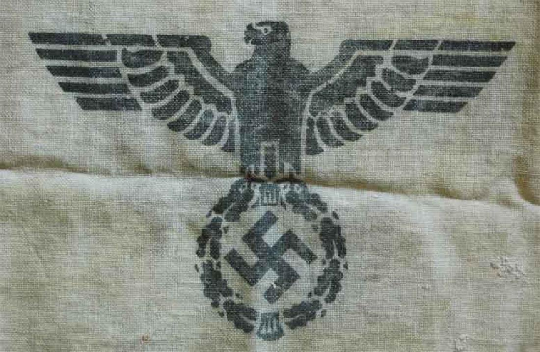 German WW2 Bag for Gold & Money fr. Concentration Camp - 2