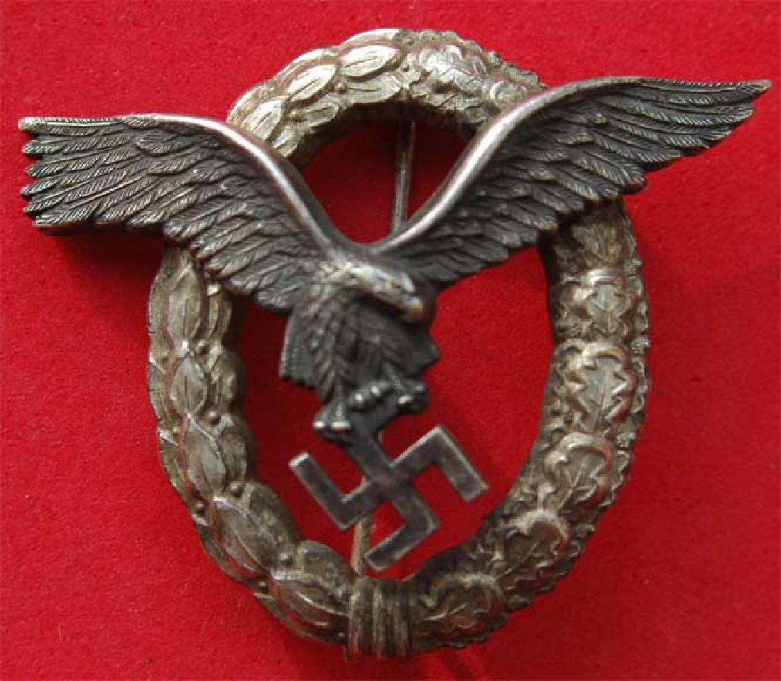 GERMAN WW2 LUFTWAFFE PILOT Badge