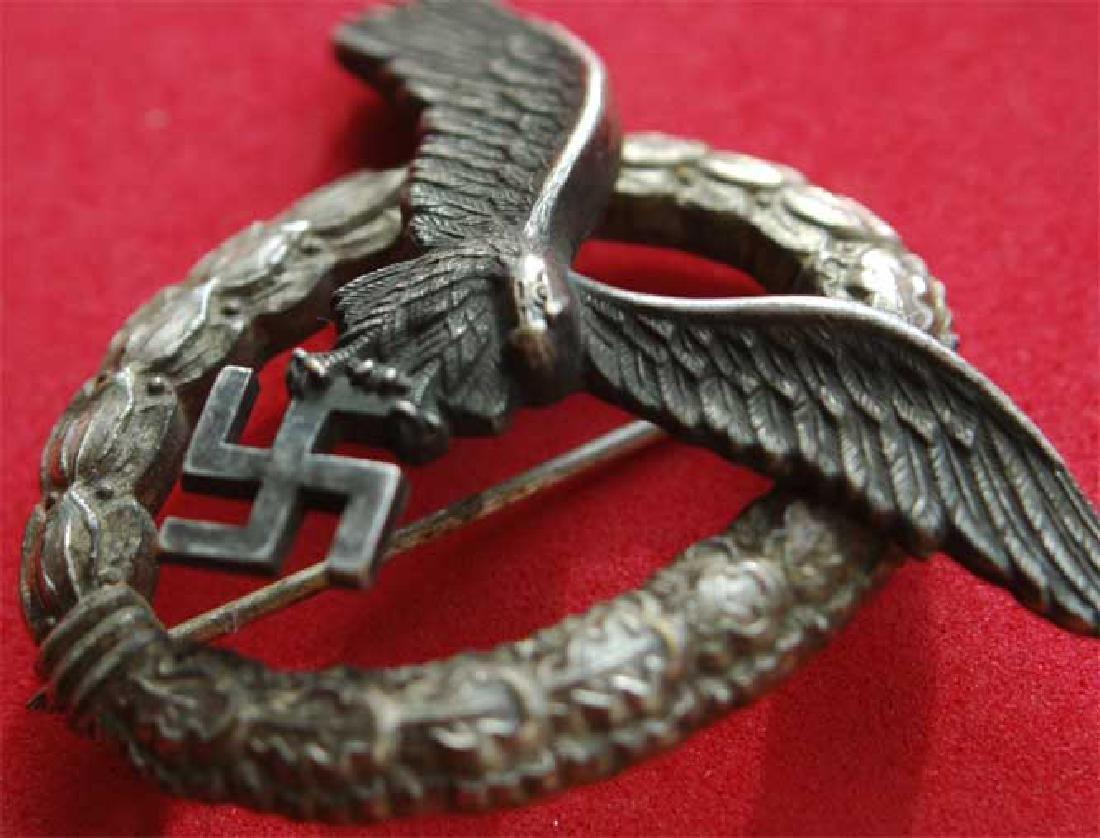 GERMAN WW2 LUFTWAFFE PILOT Badge - 2
