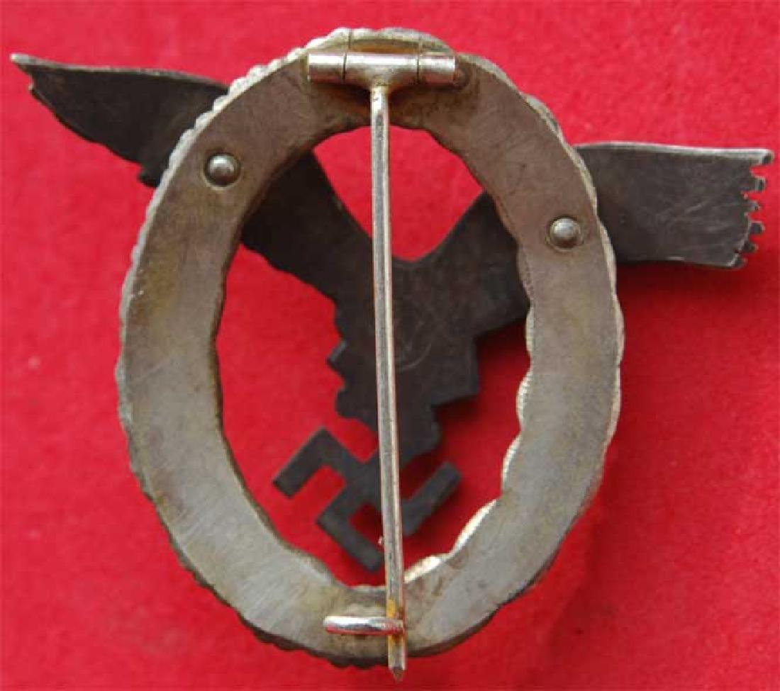 GERMAN WW2 LUFTWAFFE PILOT Badge - 3