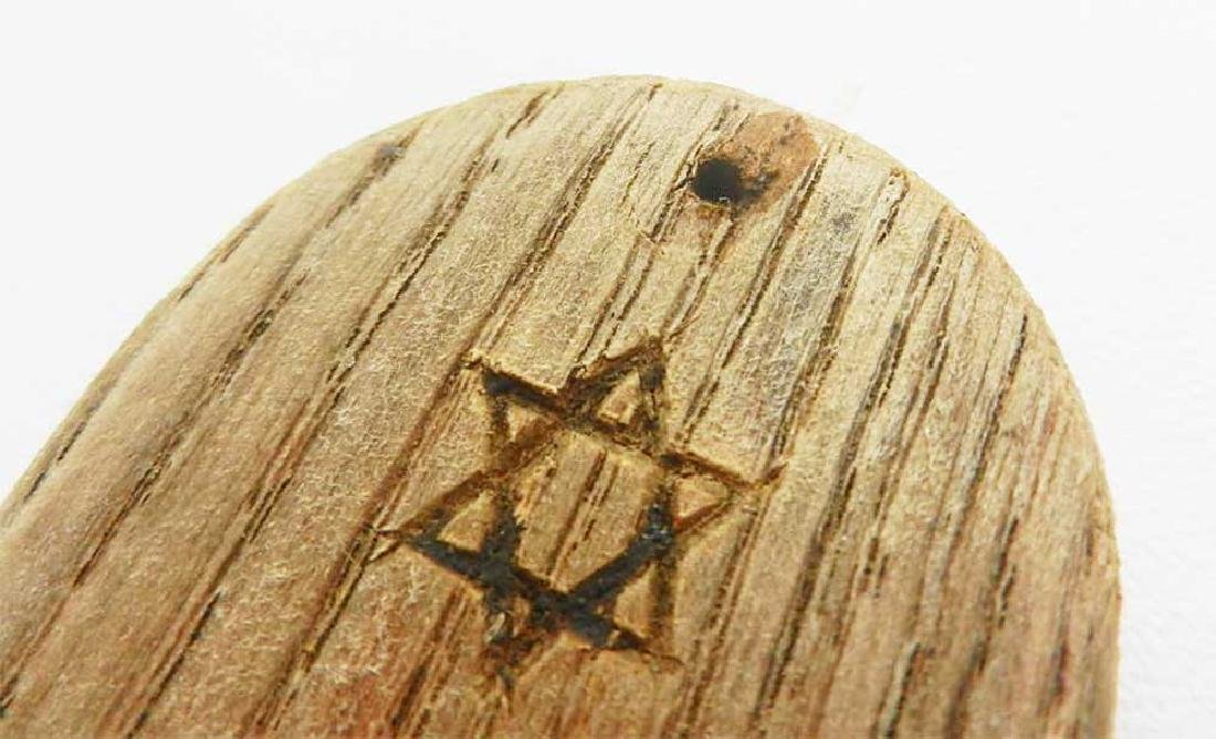Original Jewish MEZUZAH case, Star of David from - 7
