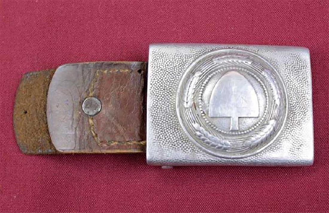 German WW2 Reichsarbeitdienst RAD Buckle, 1939 - 1945 - 2