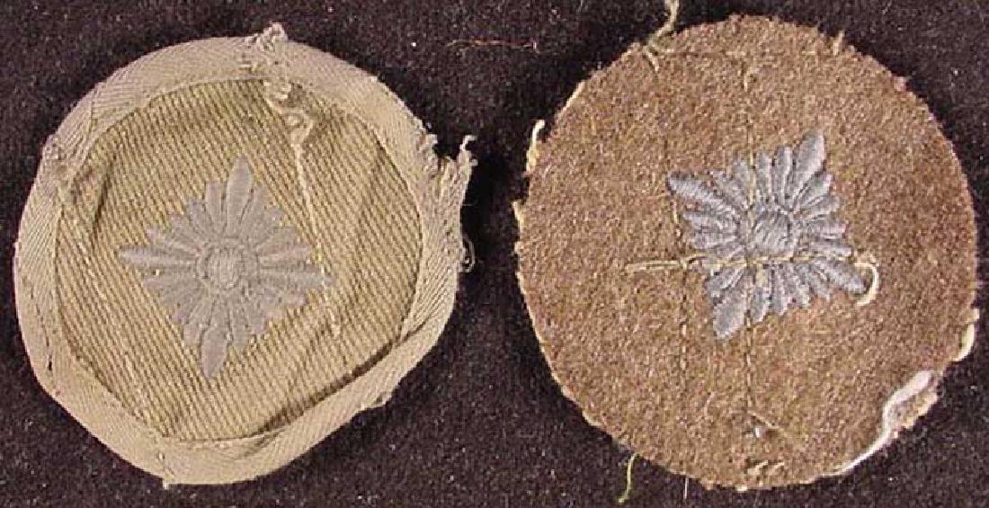 German WW2 Sleeve Rank Pip, Africa Corpus Badge