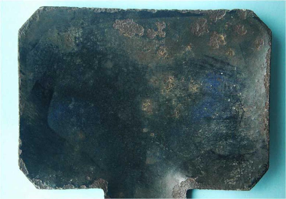 WW2 Enamel Sign for Railway Track, Buchenwald KZ - 2