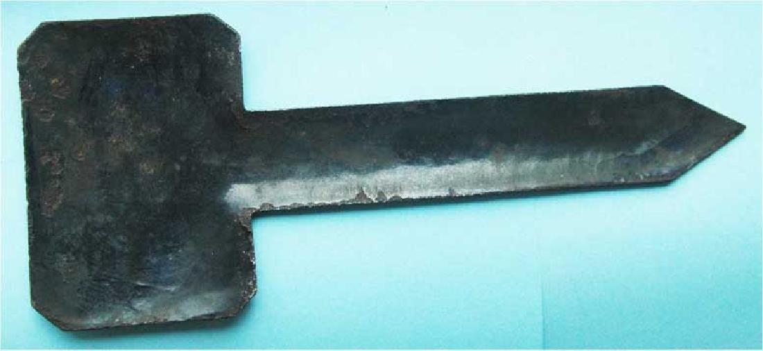 WW2 Enamel Sign for Railway Track, Buchenwald KZ - 3