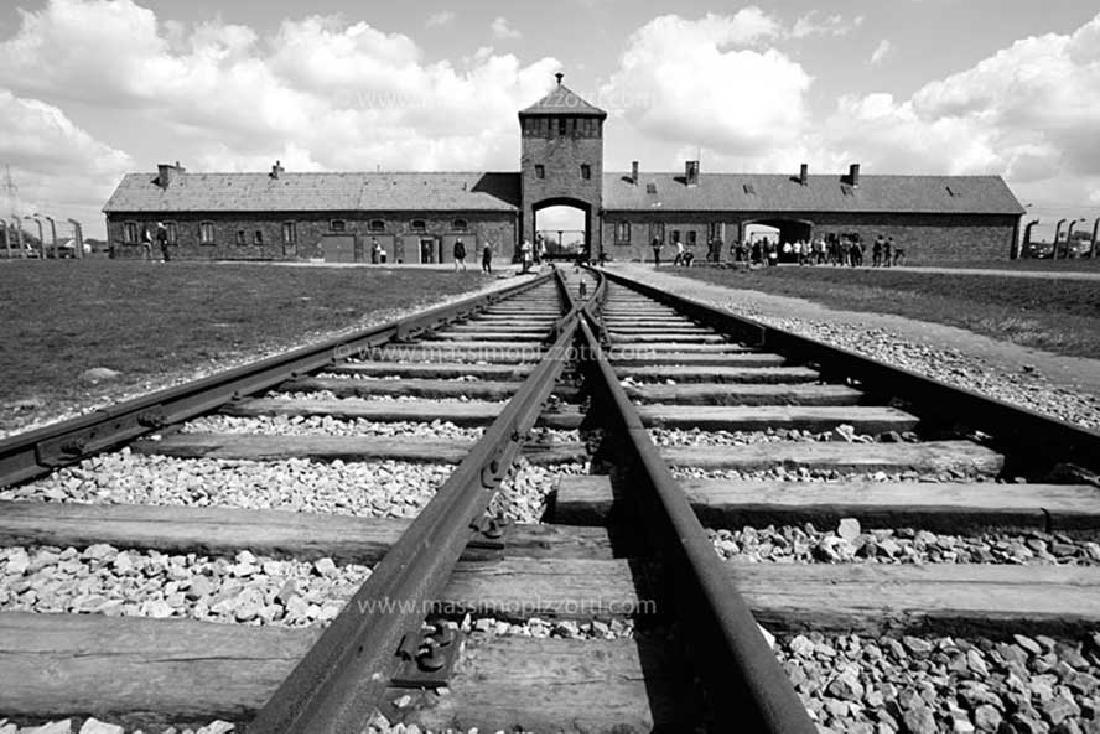 WW2 Enamel Sign for Railway Track, Buchenwald KZ - 7