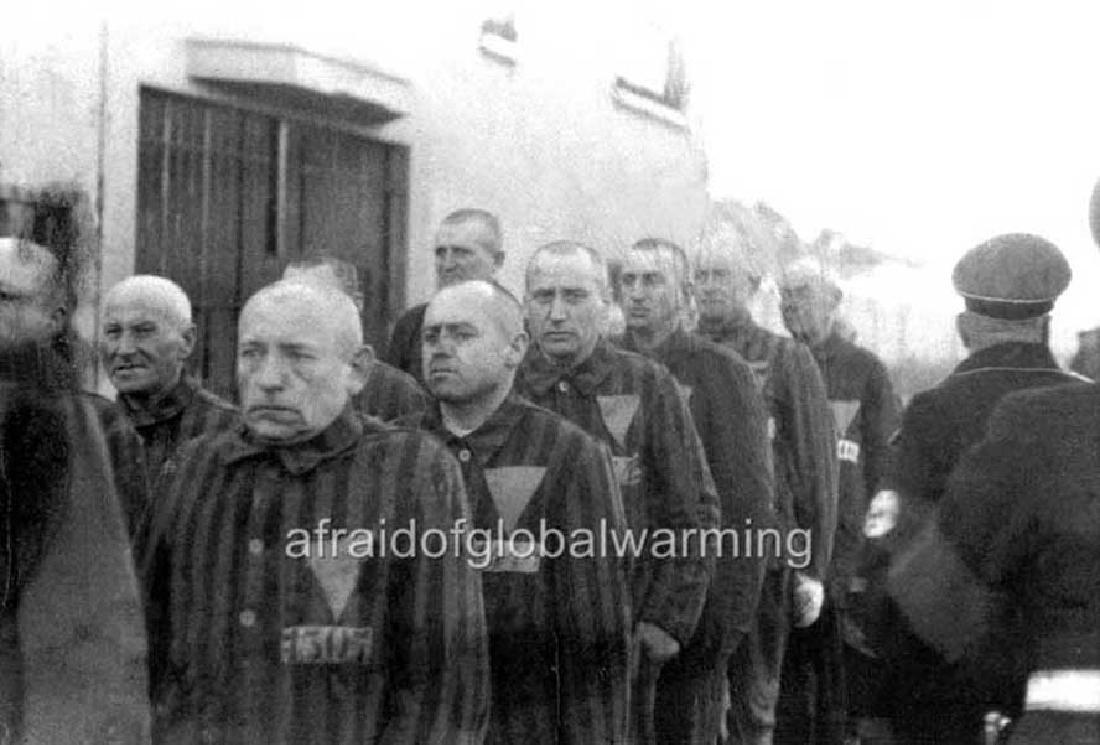 WW2 Enamel Sign for Railway Track, Buchenwald KZ - 8