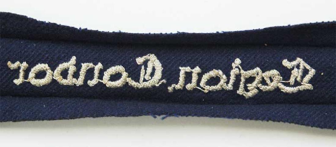 German WW2 Luftwaffe Legion Condor Cuff Title KG 53, - 6