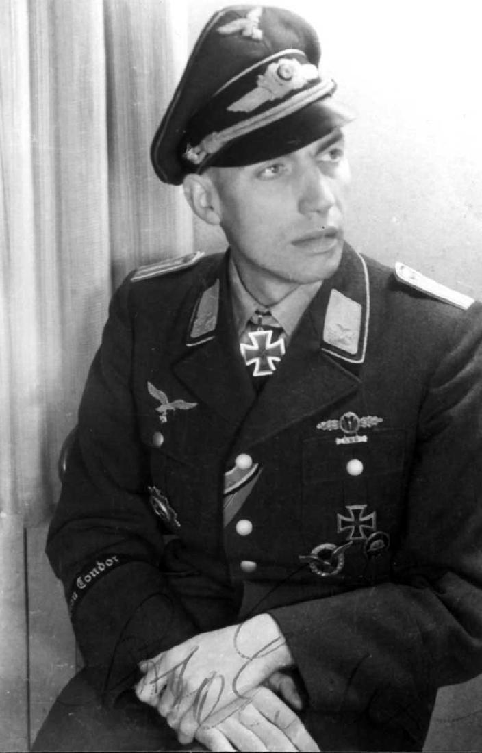 German WW2 Luftwaffe Legion Condor Cuff Title KG 53, - 9