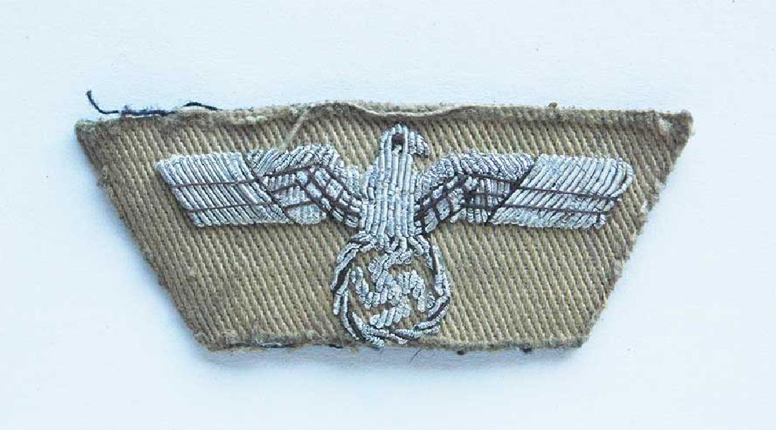German WW2 Patch fr. Africa Korp w. Eagle & Swastika - 2