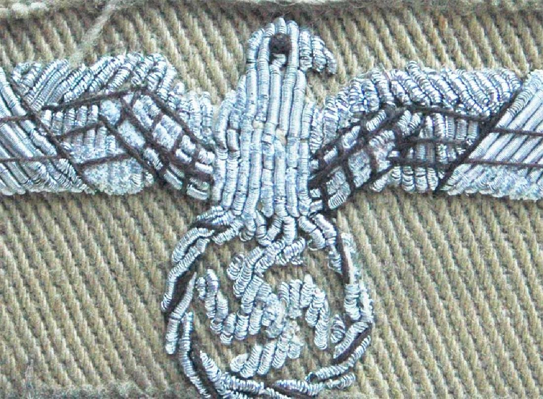 German WW2 Patch fr. Africa Korp w. Eagle & Swastika - 3