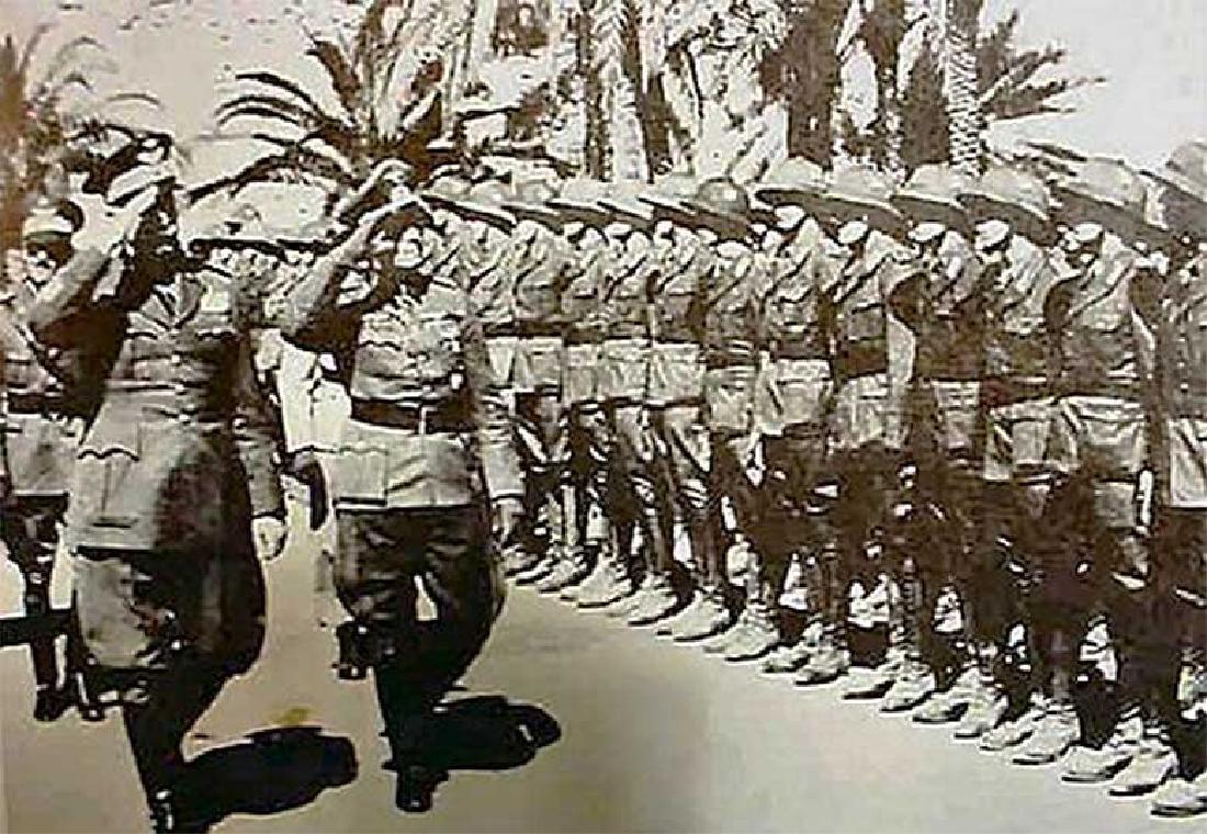 German WW2 Patch fr. Africa Korp w. Eagle & Swastika - 6