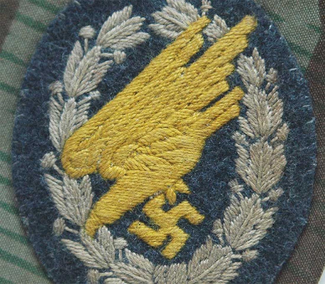 German WW2 Army Para Badge, - 2