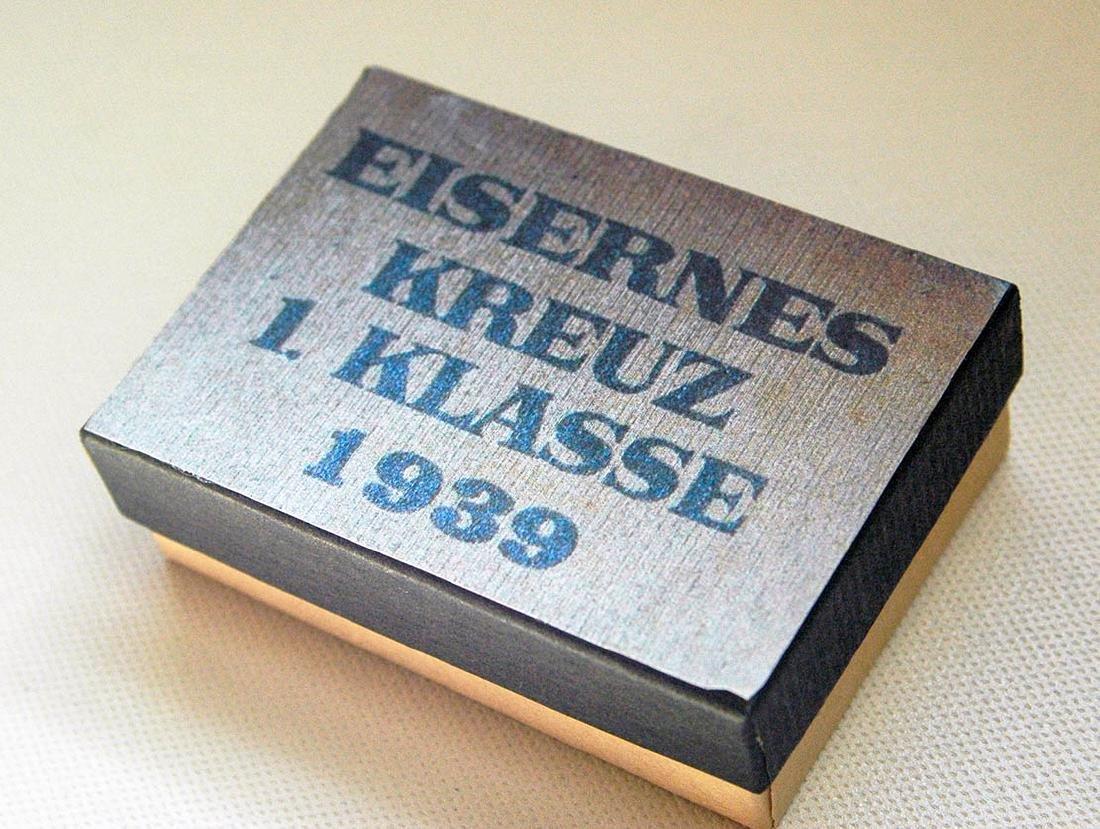 German WW2 LDO Box Etui for Iron Cross 1st Class